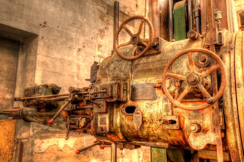 "HDR Study of ""The Machine"" - push me, pull me, turn me. by Jason Ruth"