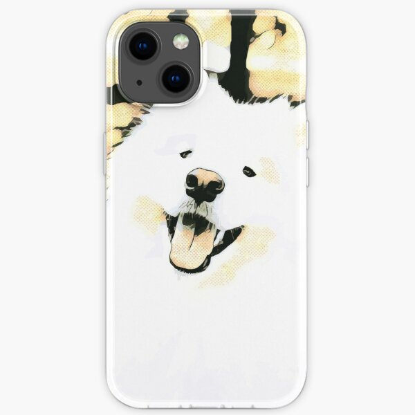 Happy Samoyed iPhone Soft Case