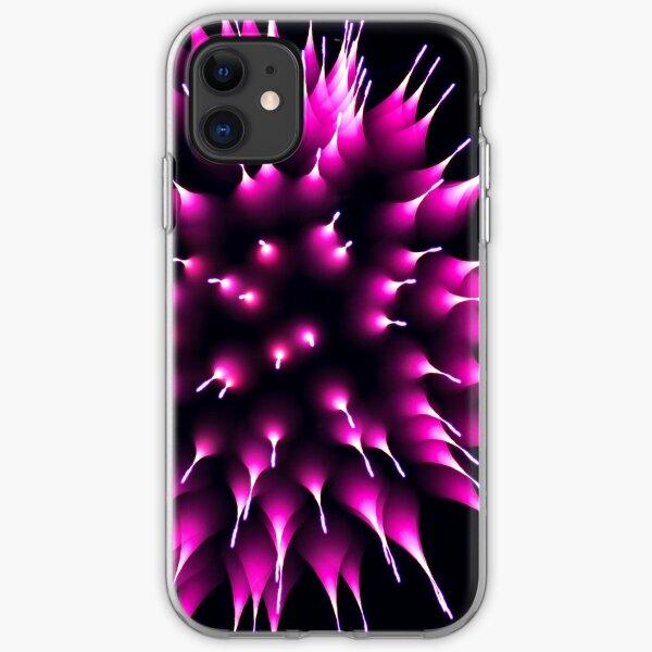 Purple Porcupine iPhone Soft Case