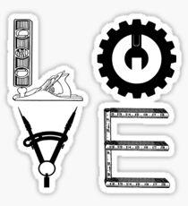 Maker LOVE Sticker