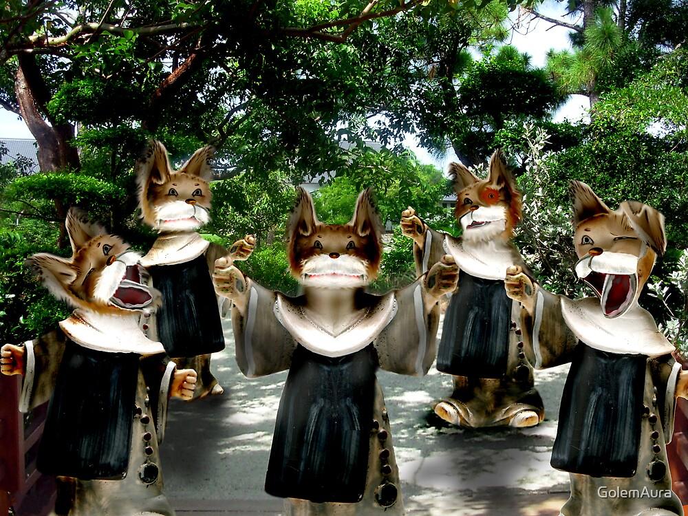 Bark Nuns by GolemAura