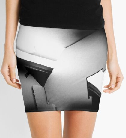 Puzzling Emotions Mini Skirt