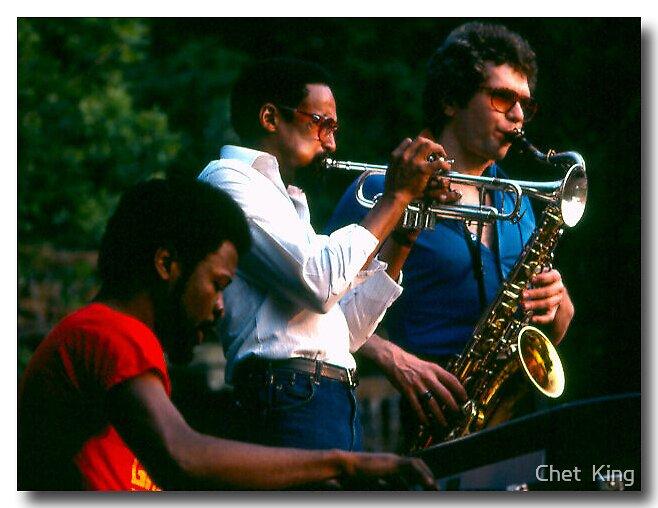 Trio by Chet  King