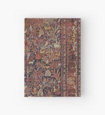 Cuaderno de tapa dura Persian Vintage Antique Carpet Nature Fine Art
