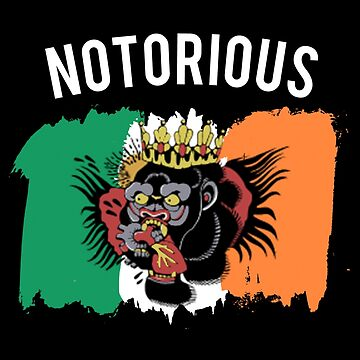 NOTORIOUS - CONOR T SHIRT - GORILLA TATTOO by MelanixStyles