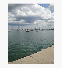 Lake Michigan, Chicago, IL 02 Photographic Print