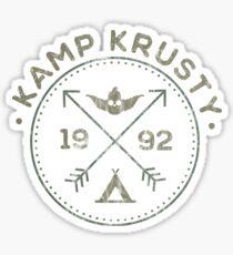 Kamp Krusty Sticker