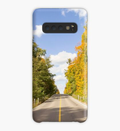 Autumn Road to Nowhere 2 Case/Skin for Samsung Galaxy