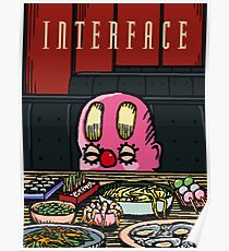 Interface Restaurant Poster Poster