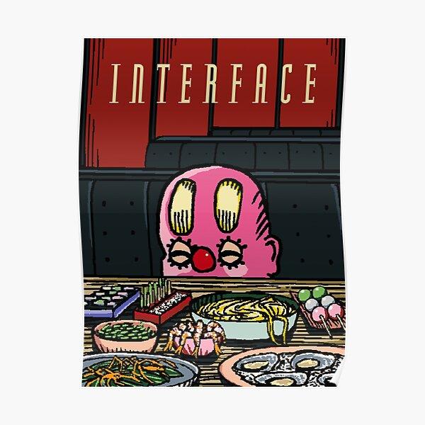 Interface Restaurant Poster Poster