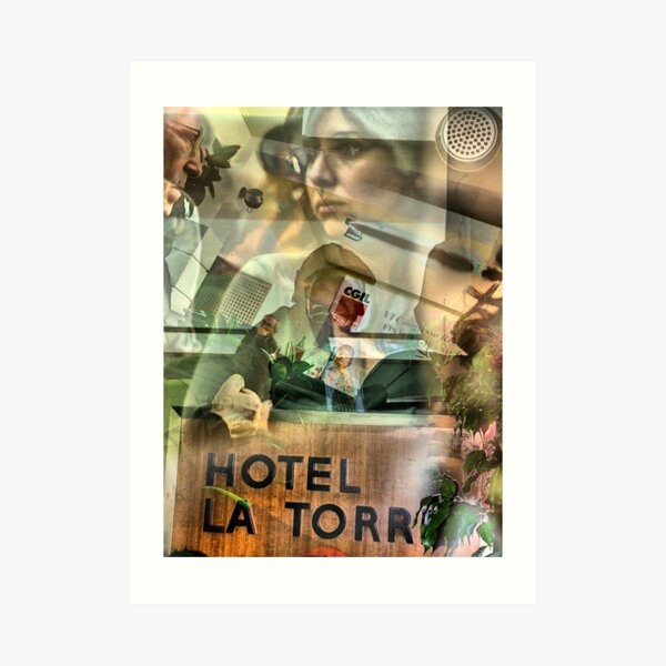 Splendid Hotel La Torre Mondello (PA) Art Print
