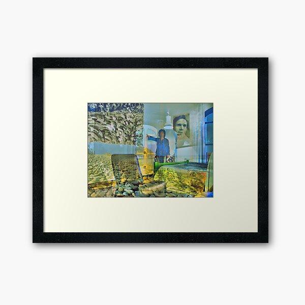 Atelier sul Mare - Art Hotel - Castel di Tusa (ME) Framed Art Print