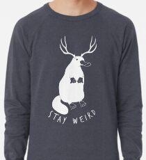 Bleib verrückt Leichter Pullover