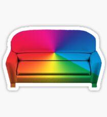 BROCKHAMPTON - Iridescence Couch Sticker
