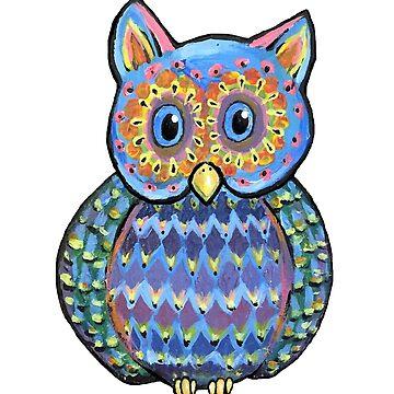 Colorful Owl by Creatividad