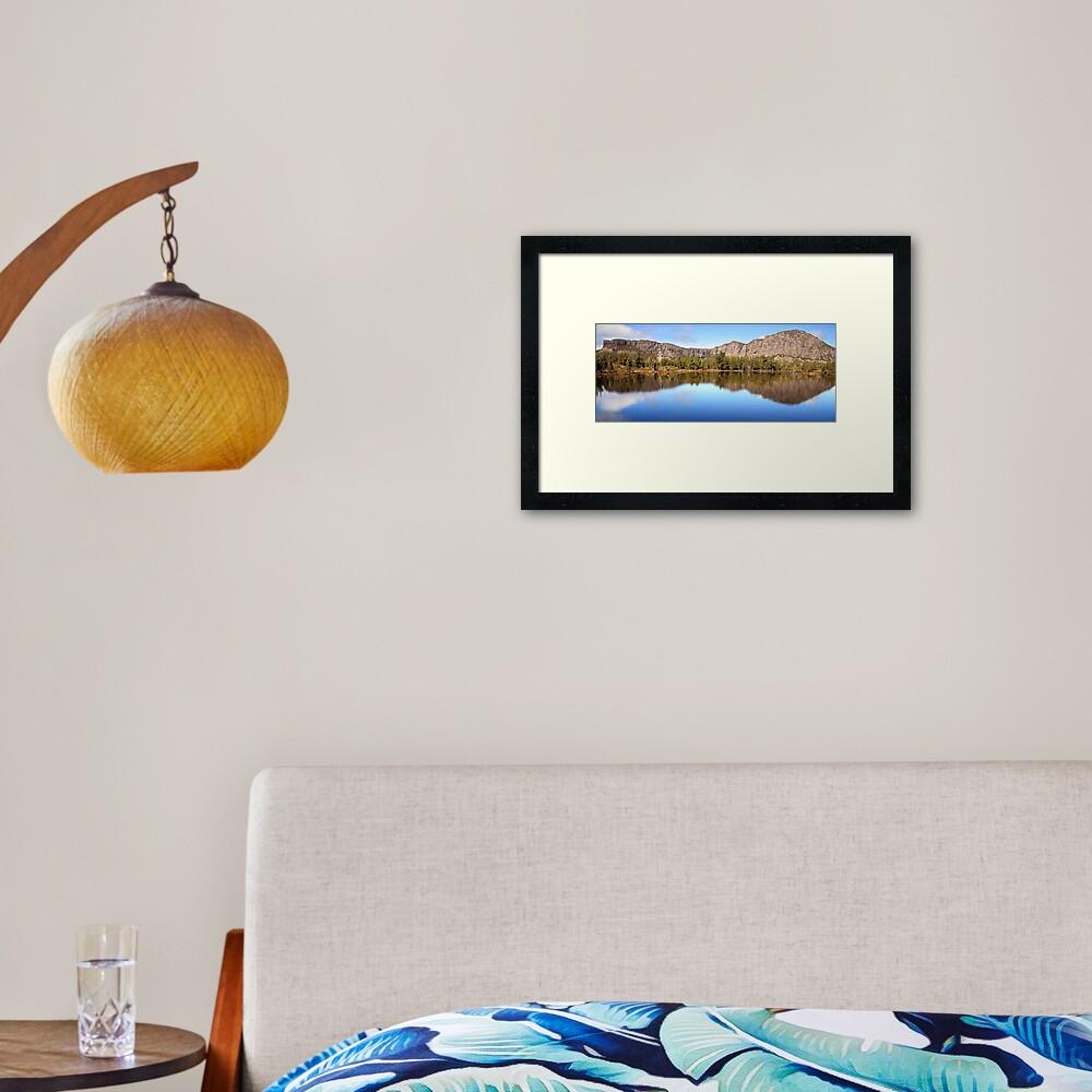 Pool of Siloam, Walls Of Jerusalem, Tasmania, Australia Framed Art Print