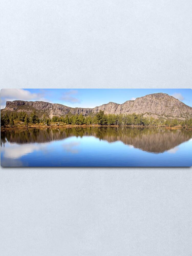 Alternate view of Pool of Siloam, Walls Of Jerusalem, Tasmania, Australia Metal Print