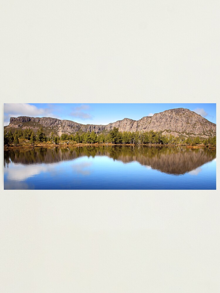 Alternate view of Pool of Siloam, Walls Of Jerusalem, Tasmania, Australia Photographic Print