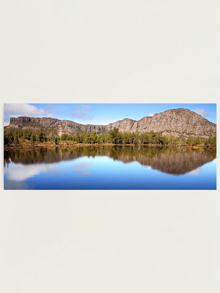 Alternate view of Pool of Siloam, Walls Of Jerusalem, Tasmania, Australia Photographic Print