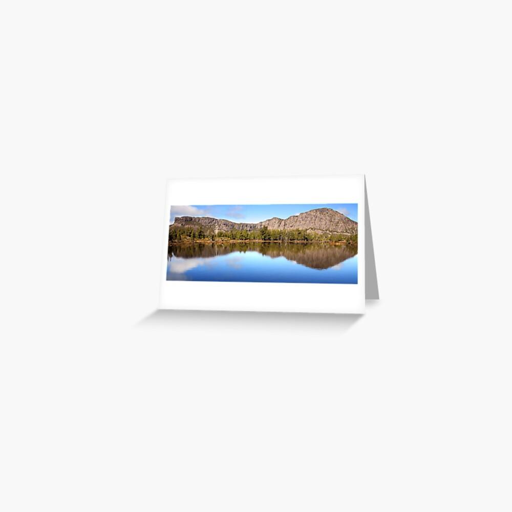 Pool of Siloam, Walls Of Jerusalem, Tasmania, Australia Greeting Card
