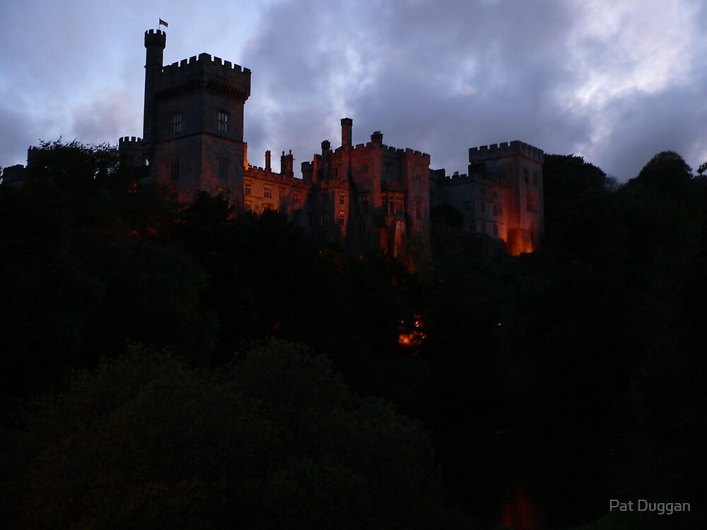 Lismore Castle at Dusk--Co.Waterford[Please View Larger] by Pat Duggan