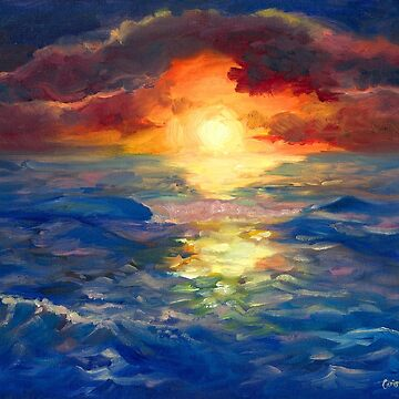 Ocean Dream, Sunset Impressions by carissalapreal