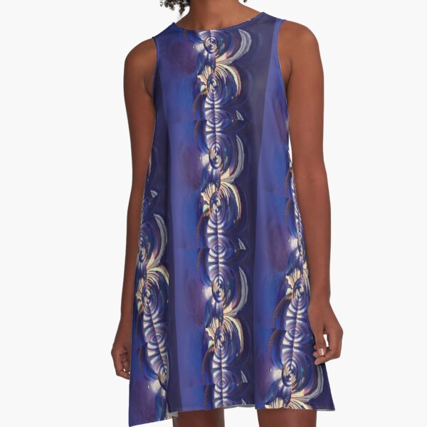 Complex Reverence  A-Line Dress