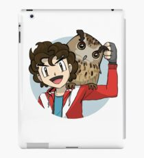 Sincloopy and Fat Poopy the Owl iPad Case/Skin
