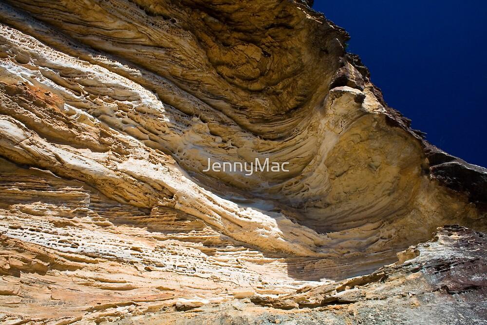 Wind Eroded Cave - Blackheath NSW by JennyMac