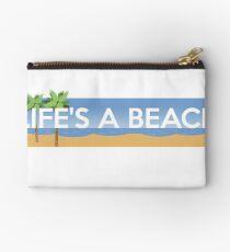 Life Is A Beach Summer Sunshine Studio Pouch