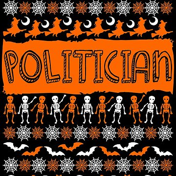 Cool Politician Ugly Halloween Gift t-shirt by BBPDesigns
