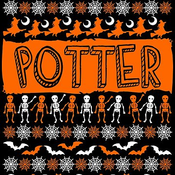 Cool Potter Ugly Halloween Gift t-shirt by BBPDesigns