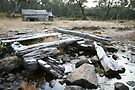 Guy's Hut, Mt Howitt, Victoria, Australia by Michael Boniwell