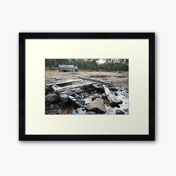 Guy's Hut, Mt Howitt, Victoria, Australia Framed Art Print
