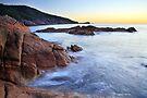 Sleepy Bay Sunrise, Freycinet Peninsula, Tasmania, Australia by Michael Boniwell