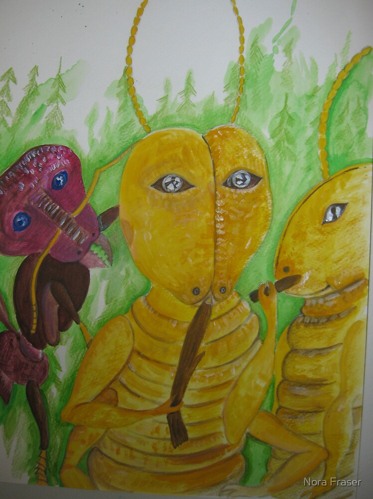 The Termite and the Ant  join forces by Nora Fraser