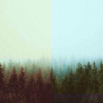 Forest half by EliaCoan