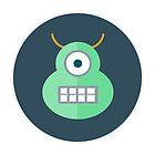 Space Monster Head Halloween Night by osamaandosama