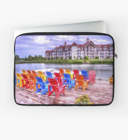 The dock at Blue Mountain Laptop Sleeve