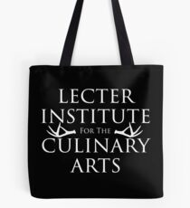 The Lecter Institute for the Culinary Arts Tote Bag