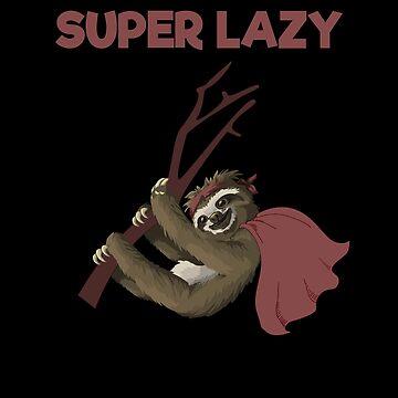 Super Lazy Sloth by VaSkoy