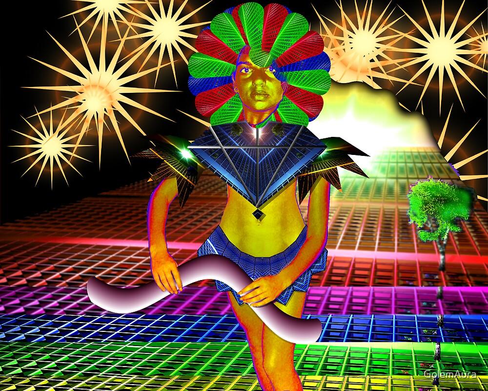 Rainbow Defense by GolemAura