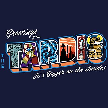 Greetings From The Tardis - Doctor Who by PaulyH