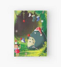 Totoro Christmas Card Hardcover Journal