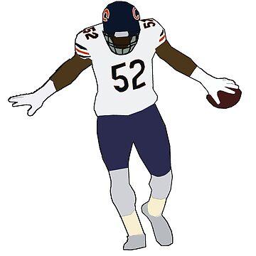 Khalil Mack - Chicago Bears by xavierjfong