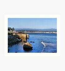 Santa Cruz, California Art Print