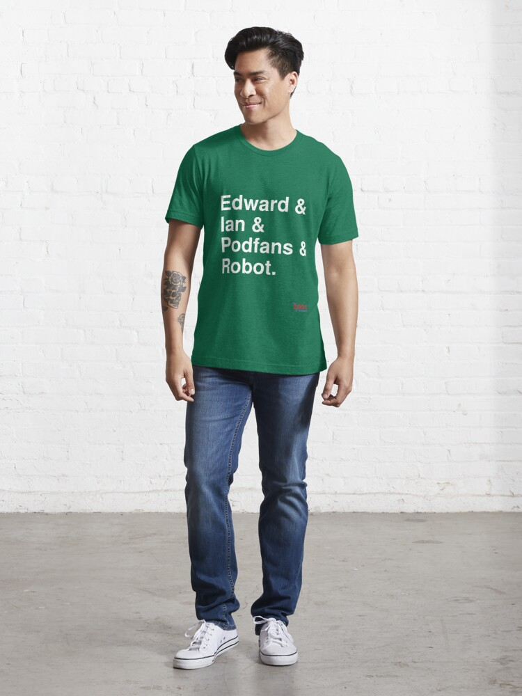 Alternate view of 200% Podcast hosts t-shirt Essential T-Shirt