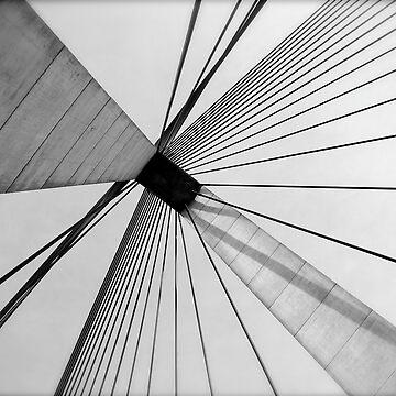 Anzac Bridge by AnnabelHC