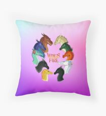 Wings of Fire - Dragonets nebula Throw Pillow