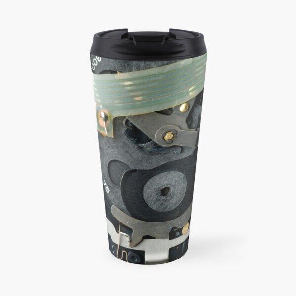 Inside a Polaroid Land Camera Travel Mug